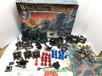Weapons and Warriors Castle Combat 1994 Pressman Game - Huge Lot of Pieces
