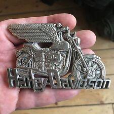 Un raro 1980 Genuine Harley Davidson prodotta fibbia della cintura.