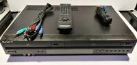 Sony SLV-D281P DVD Player VHS HiFi Video Cassette Recorder VCR Combo Tested Work