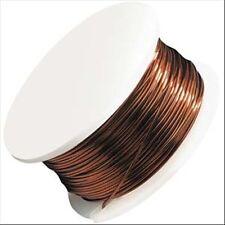Artistic Wire, Copper Craft Wire 20 Gauge Thick, 6 Yard, Rich Metallic Brown