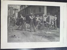 The Iron Workers Noon Time Wheeling West Virginia Thomas Anshutz Harper's 1884