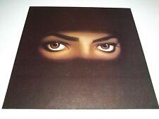 Rare Vintage Original~ 1991 MICHAEL JACKSON ~ DANGEROUS ~Promo Album Flat Poster