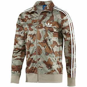Adidas Originals Firebird Camo Camouflage White Track Top Jacket