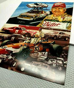 Bobby Allison Donnie Allison Junior Johnson Buddy Baker NASCAR Four Autographs