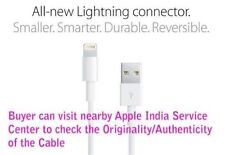 100% Apple Original 8 PIN Lightning Usb Data/Charge Cable iPhone 5/5s/6s/6+ 7
