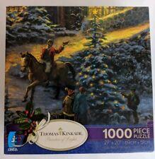 SPIRIT OF CHRISTMAS THOMAS KINKADE 1000 PC JIGSAW PUZZLE