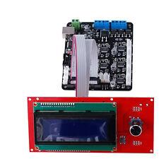 3D Printer Kit MKS Base V1.4 3D Printer Controller Board + 2004 LCD Controller