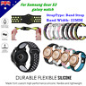 Silicone Bracelet Strap Watch Band For Samsung Gear S3 Frontier/Classic 22mm TAT