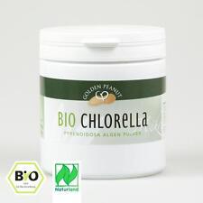Bio Chlorella Pyrenoidosa Pulver Naturland 500 g Dose Lebensmittelqualität