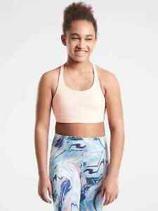 Athleta Girl Upbeat Sports Bra 2.0 Size XL / 14 Ballerina Gown 866401