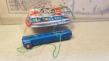 -Tin Toy T.P.S Battery Operated Hover Craft  -Working-