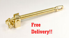 Polished Brass Skylight Opener.. Winder.. Telescopic..Roofvent Spindle