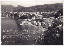 NAPOLI SORRENTO 30 MARINA DEI PESCATORI MUSICA Cartolina FOTOGR. VIAGGIATA 1957