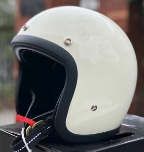 Motorcycle Helmet Japanese Style Open Face Helm Light Weight Shell 500tx Series