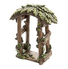 Darice Timeless Mini Wood Look Ivy Archway + Receive Free Miniature gift