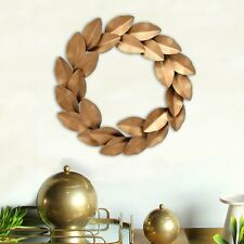LAUREL WREATH Wall Decor Antique Gold
