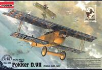 FOKKER D VII LATE (KAISERLICHE LUFTWAFFE /LOEWENHARDT, GOERING/ MKGS) 1/48 RODEN