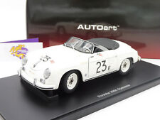 "AUTOart 77865 # PORSCHE 356 Speedster Palm Springs Race  "" James Dean "" 1:18 NEU"