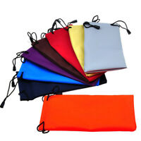 5Pcs Waterproof Sunglasses Eyeglasses Soft Cloth Carry Bag Pouch Dust Case