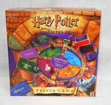HARRY POTTER AND THE SORCERER'S STONE TRIVIA GAME - 2000 - COMPLETE - GOOD COND