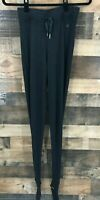 Lululemon Women's Black Sweet Savasana Sweater Stirrup Pants Size Medium