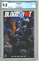 Bloodshot #1 CGC 9.8 Bulletproof Comics and Games Edition 2019 Johnny Desjardins