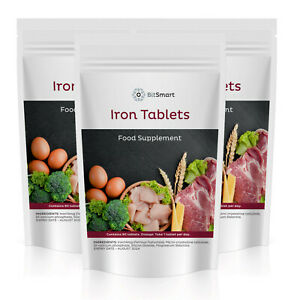 Iron 14mg - 90 Tablets -  Energy Boost Anaemic Reduces Tiredness & Fatigue