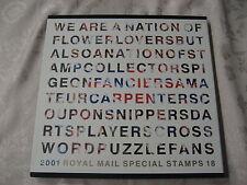 2001 ANNUARIO YEAR BOOK 18 Royal Mail