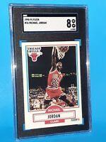 1990 Fleer #26 Michael Jordan SGC 8 NM/MINT