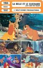 FICHE CINEMA FILM Dessin animé USA LADY AND THE TRAMP Walt Disney Productions