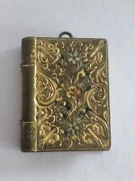 Antique Gilt Base Metal Vinaigrette