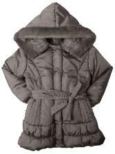 Abrigos y chaquetas de niña de 2 a 16 años abrigo color principal marrón