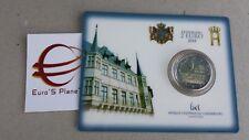 Coin card 2 euro 2018 Lussemburgo Luxembourg Luxemburg Luxemburgo Constitution