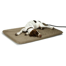 New listing Heated Dog Bed Large Soft Orthopedic Pad Indoor Outdoor Kennel House Warmer Mat