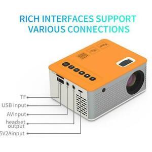 ✅Smart LED Mini Projector WiFi Bluetooth Portable 1080P rojectors Theater N0I0