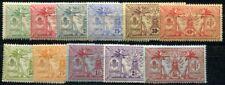 NOUVELLES HEBRIDES 1911 Yvert 38-48 * SATZ 156€(F3817