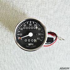 Mini Motorcycle Speedometer Suzuki Savage S40 Cafe Racer Bobber Ryca Motors