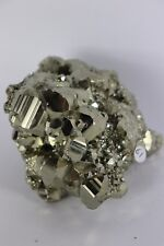 61) Pyrite Crystal Cube Formation Fools Gold Iron Great Gift - High Grade PERU