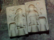 "4"" SANTA, DUNCAN HM124, Slip Casting Ceramic Mold"