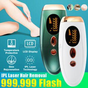 Haarentfernungsgerät IPL Laser 999999 Impulse Haarentferner Schmerzlos Epilierer