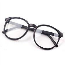 Fashion Clear Round Lens Eyeglasses Frame Retro Men Women Unisex Nerd Glasses HS