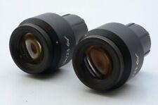 * Nuovo di zecca Set * CARL ZEISS W-PL 10X/23 Microscopio Oculare 1016-758 per 3...