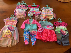 My Life as Girls Clothing Sets (Lot of 7)   New with Original Tags & Hangers