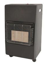 Provence portable gas central heater Matt black