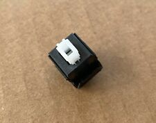 1x COMPLICATED White CLICKY ALPS Replacement Keyboard Switch TESTED WORKING