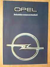 OPEL RANGE 1979 UK Mkt Sales Brochure - Kadett Ascona Manta Rekord