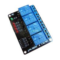 12V Four 4 Channel Relay Module For PIC AVR DSP ARM MSP430 For Arduino M