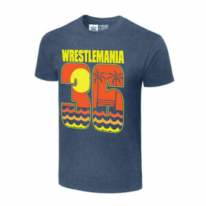 "WWE WrestleMania 36 ""Sunset"" T-Shirt Size 2XL NEW Authentic Tampa Bay WM36 BT"