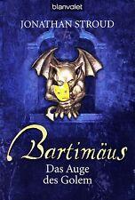 Stroud - BARTIMÄUS DAS AUGE DES GOLEM  Fantasy Abenteuer TB