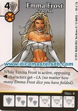 Emma Frost Graceful #101 - Uncanny X-Men - Marvel Dice Masters